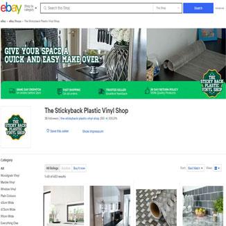 The Stickyback Plastic Vinyl Shop