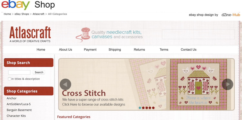 atlas craft ebay store design - dzine-hub